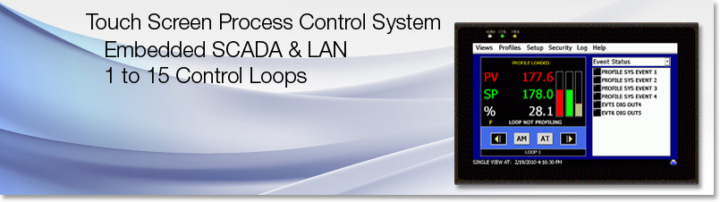 Process Control System Orion-M Touch screen SCADA LAN