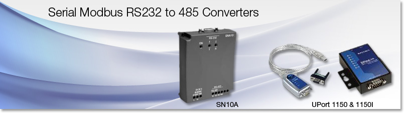 RS232 to 485 Converters