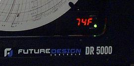 DR5000 Display closeup
